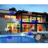 Wholesale RGBW Snowflake led laser light IP65 Outdoor holiday decoration lamps from china suppliers