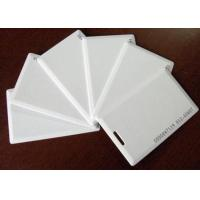 Wholesale Thin white ID card, Thick white ID card, inductive ID card, identification card, blank ID card, access control card from china suppliers
