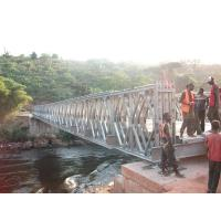 Wholesale Timber Deck Bailey Steel Truss Bridge Compact With Single Lane from china suppliers