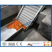 Wholesale Fruit Juice Processing Equipment Orange Processing Line 5000kg / Hour ISO9001 CE/SGS from china suppliers