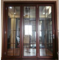 Wholesale Thermal Break Entrance Aluminum Folding Glass Door Accordion Sliding Closed from china suppliers