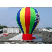 Wholesale Rainbow Giant Inflatable Advertising Balloons For Promotion 0.45mm PVC from china suppliers