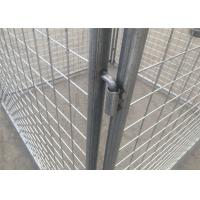 Wholesale 4mm Hot Dipped Galvanized Rubbish Cage Metal Garbage Cage Tube 32mm*1.5mm from china suppliers