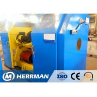 Buy cheap Copper / Aluminum Wire Rewinding Machine , Cable Winding Equipment With Taping from wholesalers