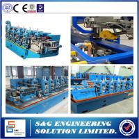 Buy cheap High Frequency Stainless Steel Welded Pipe Machine GH45 Straight Seam from wholesalers