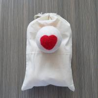 Wholesale Wool Dryer Balls 6 Pack Reusable Natural Fabric Softener with heart from china suppliers
