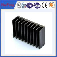 Wholesale Black anodized aluminum extrusion profile supplier, supply aluminum radiator extrusion from china suppliers