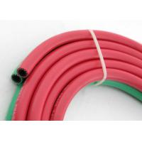Quality 3 / 16'' - 3 / 8'' Grade R Twin Welding Rubber Hose 20 bar for Gas Welding for sale