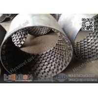 "Wholesale Stainless Steel 410S grade 14gauge X 3/4"" depth Hexmesh with Bonding hole for refractory line from china suppliers"