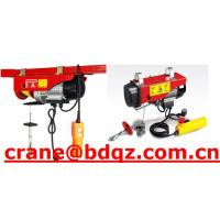 Wholesale High Quality PA mini electric hoist with best price from china suppliers