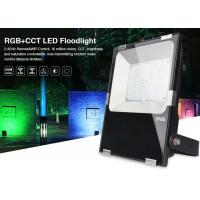 Wholesale Milight IP65 50W RGB+CCT LED Floodlight 2.4G All color RGB and CCT adjustable dual white 3000k 6000k LED outdoor light from china suppliers