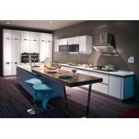Buy cheap Euro Style Green Pvc Kitchen Cabinet from wholesalers