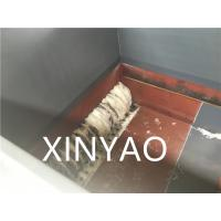 Wholesale Claw Knife Plastic Shredder Machine for Crushing Solid Plastic ISO9001:2008 / CE from china suppliers