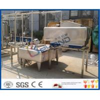 Wholesale 1TPH - 10TPH ISO Standard Milk Pasteurizer Machine For Milk Pasteurization Plant from china suppliers