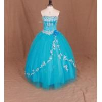 Wholesale China Prom Dress / Blue Elegant Strapless Ball Gown Prom Dress from china suppliers