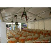 Wholesale 6M Modular Design Commercial Event Tents , Outdoor Event Canopy With Soft PVC Windows from china suppliers