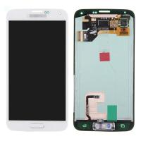 Wholesale For Samsung Galaxy S5 SM-G900/G900A/G900V/G900P/G900R4 LCD and Digitizer Assembly with Home Button - White - Grade A+ from china suppliers