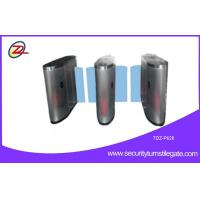 Wholesale Flap Waist High Security Turnstiles with 950mm height , Pedestrian Barrier Gate from china suppliers