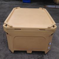 Wholesale 1000L Rotational molded fish totes, fish transport and storage bin,large fish cooler box from china suppliers