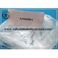 Wholesale Arimidex Legal Oral Steroids Anastrozole For Breast Cancer Treatment CAS 120511-73-1 from china suppliers
