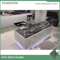 Quality Jewelry shop decoration jewelry shop interior display showcase jewelry metal classic style for sale