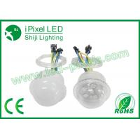 Wholesale IP66 rate 35mm 24V 6pcs Digital RGB LED Pixels UCS1903 LED Point Light from china suppliers