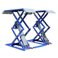 Wholesale Powered Aerial self propelled elevating work platforms , aircraft work platforms 200KG from china suppliers