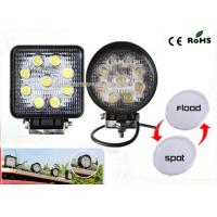 Wholesale 27w Led Truck Work Lights IP67 Waterproof 4.3 Offroad Led Work Light from china suppliers