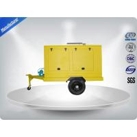 Wholesale 12 Cylinder 75dB quietest Trailer Mounted Generator large in - line Config with Dry oil filter from china suppliers