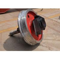 Wholesale large capacity single flange steel trolley wheel running on steel rails from china suppliers