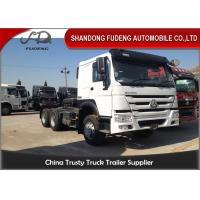 Wholesale EURO II Tractor Head Trucks 420 HP 6 * 4 Drive Wheel Diesel Fuel Type from china suppliers