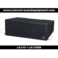 "Quality Concert Sound Equipment / 580W Line Array Speaker With1.4""+2x10"" Neodymium Drivers for sale"