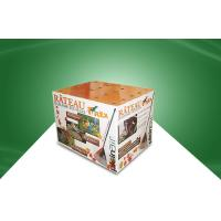 Wholesale Full Color Flexo Pring Cardboard Dump Bins Cardboard Display Units for Market from china suppliers