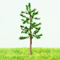 Wholesale Train Station Layout Miniature Model Scale Trees Green Avenue Metal Wire Pine Tree 4.3cm from china suppliers