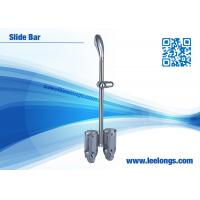 Wholesale Chromed Stainless Steel Shower Slide Bar Accessories For Hotel , Home from china suppliers