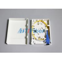 Wholesale FTTH 86 Type Optical Termination Box With  2 Port Inlet / Outlet from china suppliers