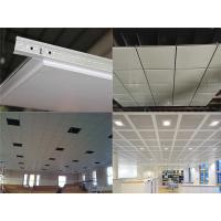 Wholesale Decorative Suspended Ceiling Tiles With Aluminum Alloy , Office Ceiling Tiles from china suppliers