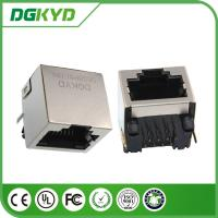 Wholesale Single Port RJ45 shielded Jack Without Transformer,10/100/1000BASE 8p8c Connector from china suppliers