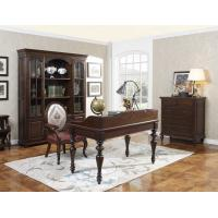 Wholesale Home Office Study room furniture Wooden Reading Writing desk Computer table with Storage cabinet and Bookshelf cabinet from china suppliers