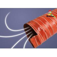 Wholesale HVAC Insulated high pressure high temperature silicone air duct from china suppliers