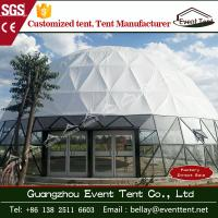 Wholesale Double coated pvc camping dome shelter / carpas glass dome tent for event from china suppliers