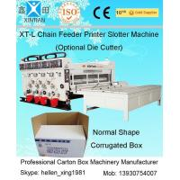 Wholesale 11kw Semi-Auto Feeding Flexo Printer Slotter Machine / Carton Box Printing Machine from china suppliers