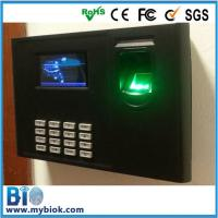 Wholesale Free Battery, 2014 New Product Linux Fingerprint Time Clock and Access Control Bio-800 from china suppliers