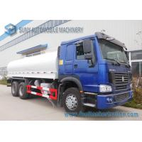 Buy cheap Sinotruk 270HP 6x4 Oval Oil Tank Truck With ZZ1257M4347D1 Chassis from wholesalers