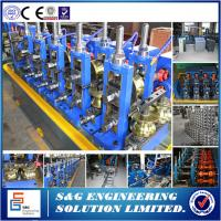 Quality 18 Stations Carbon Steel Tube Forming Machine , Automated Steel Pipe Welding Machine for sale