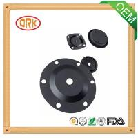 Wholesale black viton high temperature resistance oil-proof rubber diaphragm from china suppliers