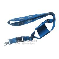 Wholesale Mobile Phone Holder Stretchable Pocket Lanyards With Silk Logo from china suppliers