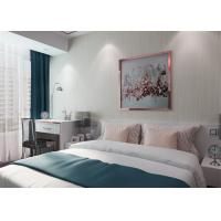 Wholesale Simple Grey Stripes Modern Removable Wallpaper for Home , Embossed Wall Coverings from china suppliers