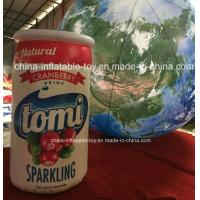 Buy cheap Customized Inflatable Bottle Model for Production Promotion , Inflatable Promotional Products from wholesalers