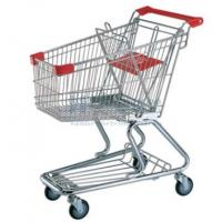 Wholesale 60 - 240 Liters Supermaket Shopping Carts Trolley with Baby Seat from china suppliers